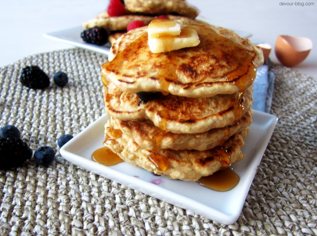 Berry Burst Pancakes
