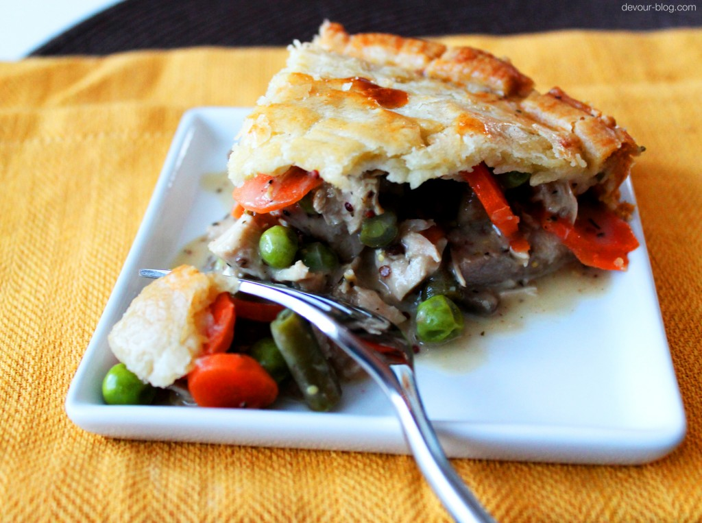 Turkey Vegetable Pot Pie  |  Devour