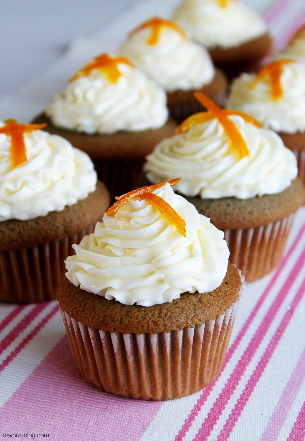 Mimosa Cupcakes Recipe — Dishmaps