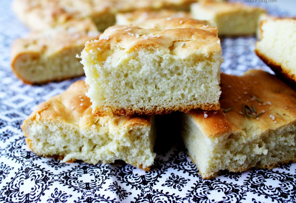 Rosemary Sea Salt Focaccia  |  Devour