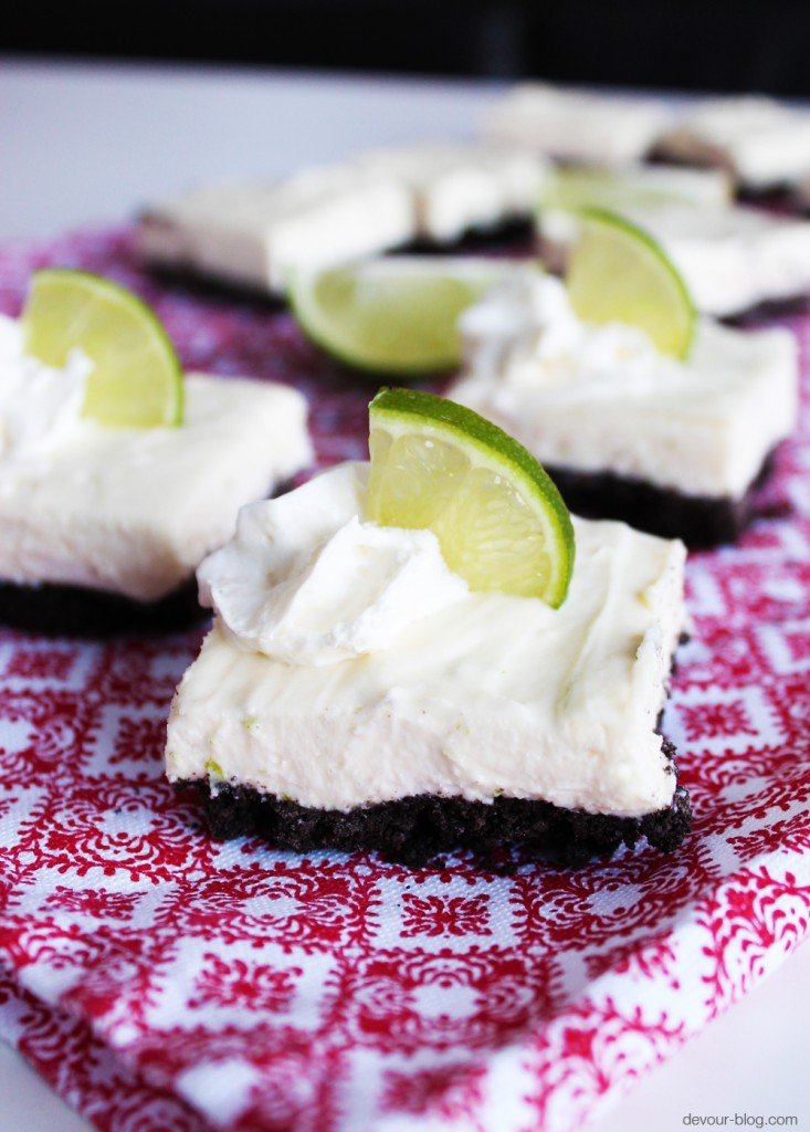 White Chocolate Lime Cheesecake Bars