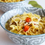 Chicken Noodle Soup. Made from scratch, it will cure what ails you! devour-blog.com