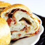 Prosciutto Cheese Bread! devour-blog.com