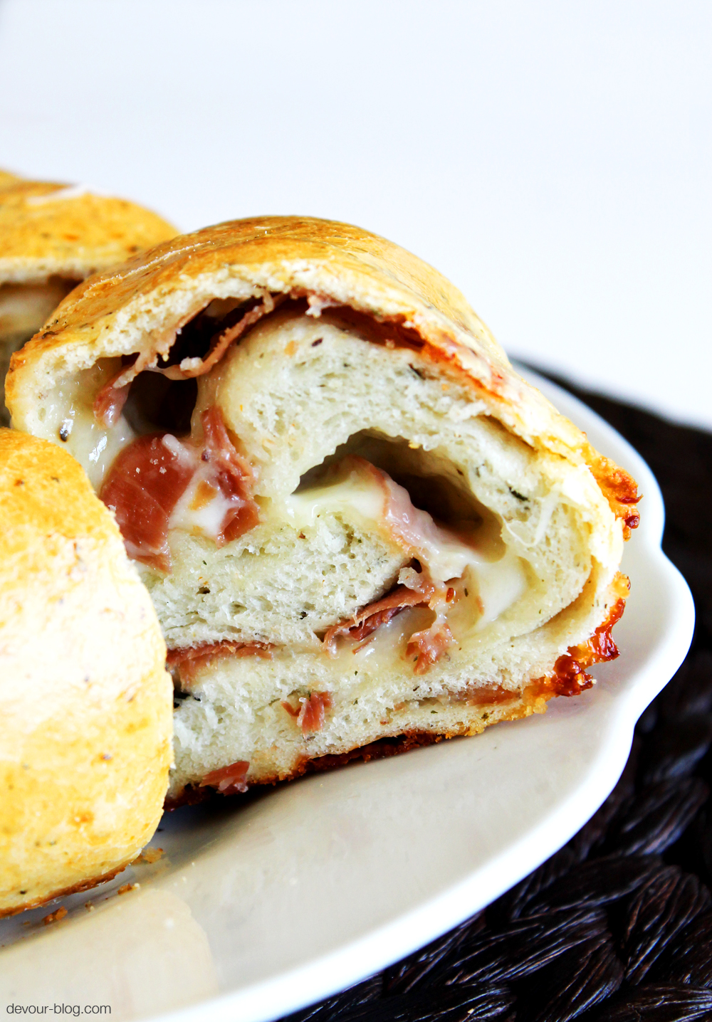 Prosciutto Cheese Bread