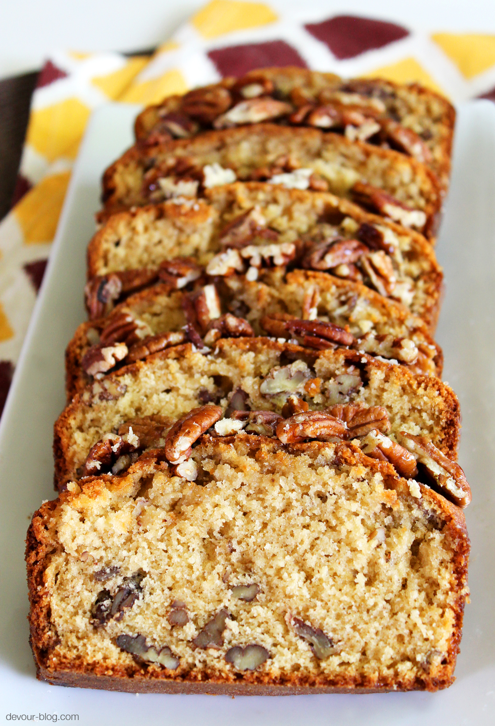 Honey Nut Loaf. devour-blog.com
