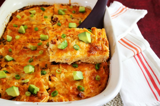 Cheesy Tex-Mex Breakfast Bake