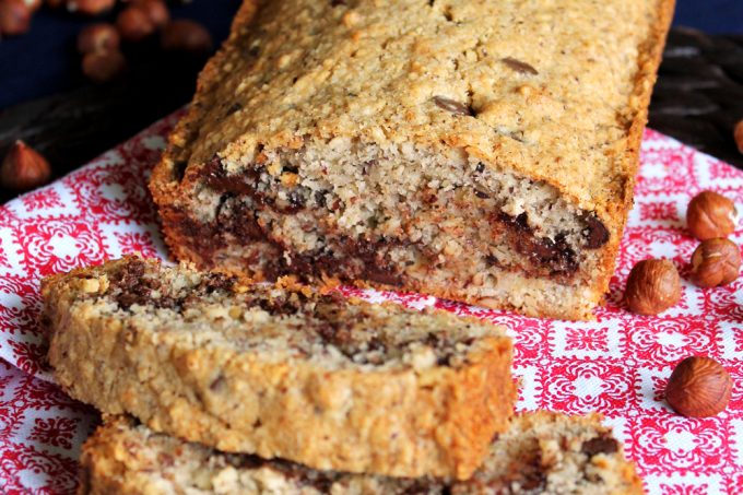 Hazelnut Chocolate Chip Loaf