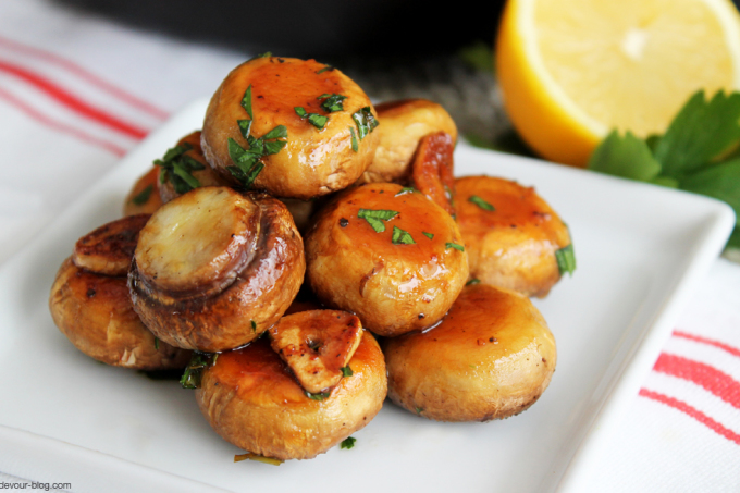 Baked Mushrooms
