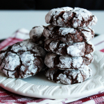 Chocolate Chai Crinkle Cookies. devour-blog.com