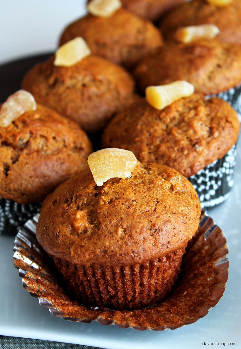 Sweet Potato Ginger Muffins