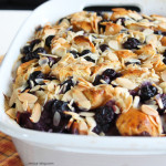 Blueberry Cheesecake Bread Pudding. devour-blog.com